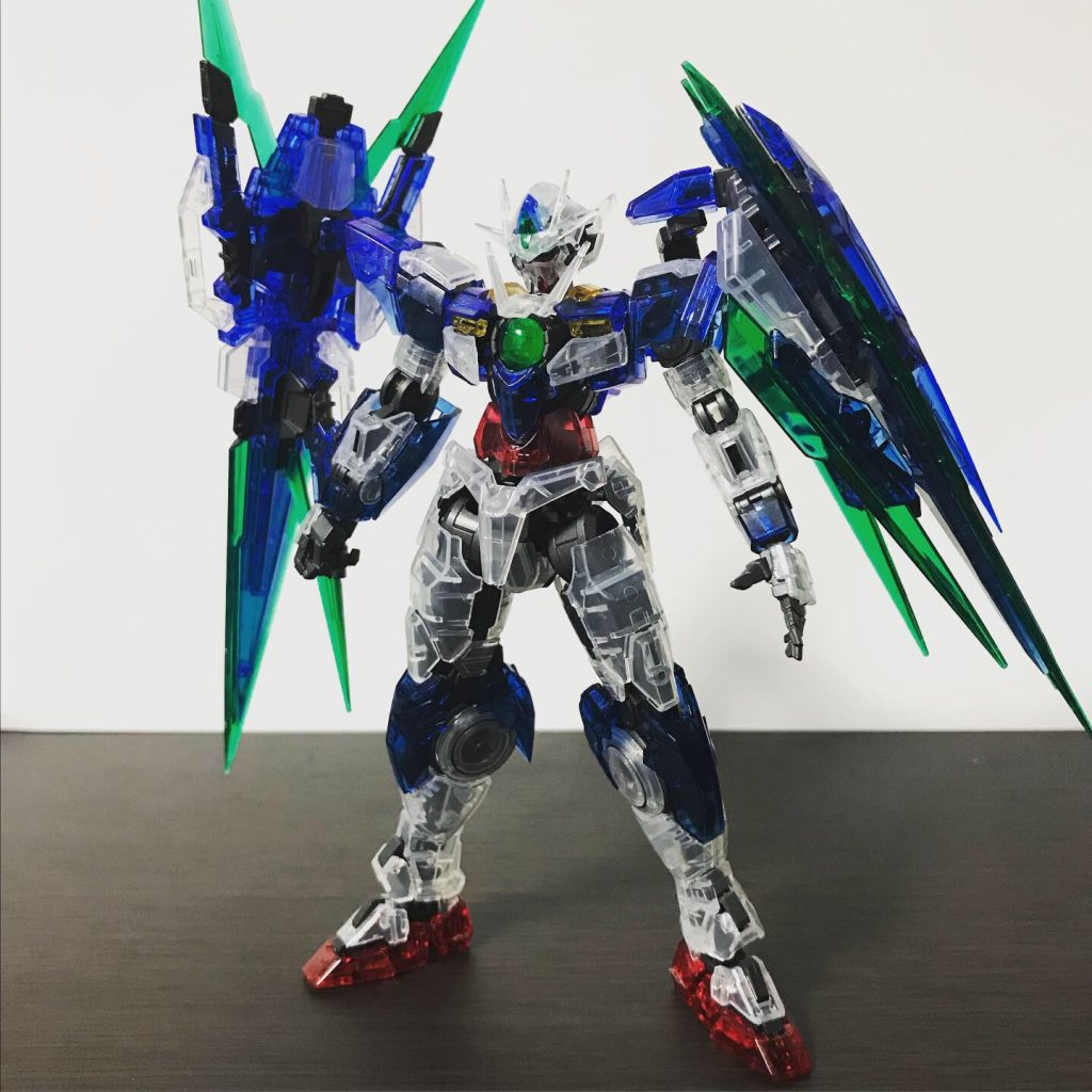 RG 1/144 OOQAN[T] FULL SABER CLEARCOLOR