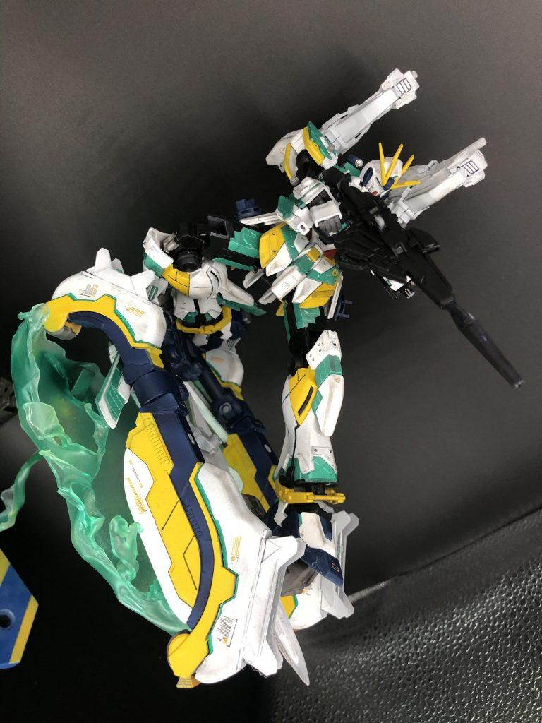 RX-9/W NARRATIVE GUNDAM W-SARF 制作工程4