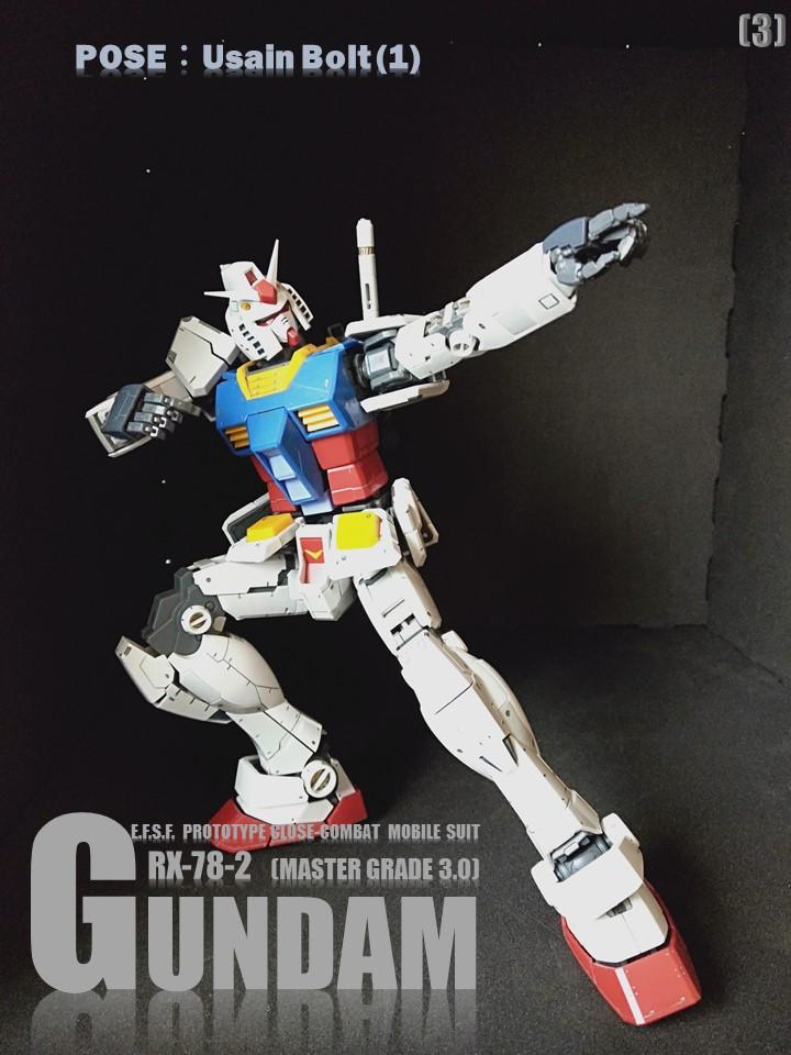 RX-78-2 GUMDAM MASTER GRADE 3.0 No2 アピールショット3