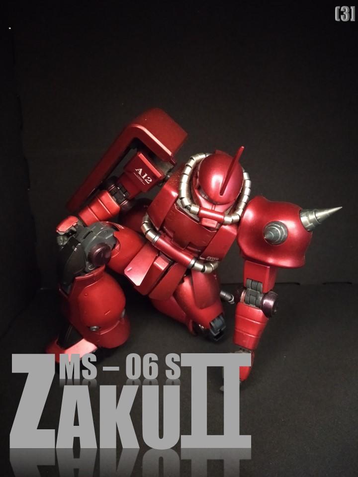 MS-06S ZAKUⅡ No1 アピールショット3