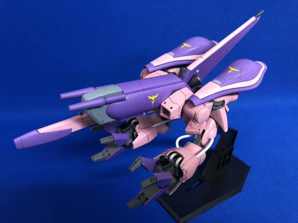 1/144HGUC AMX-003ガザC アピールショット2