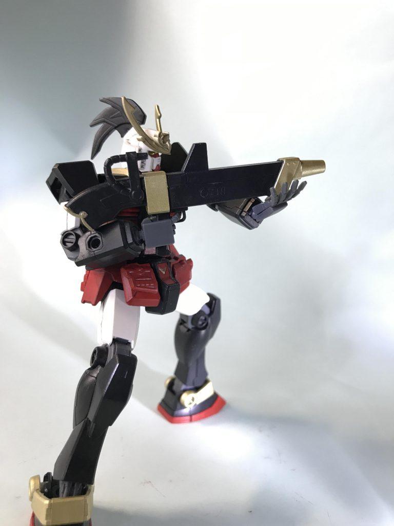 武者ガンダム HG アピールショット3