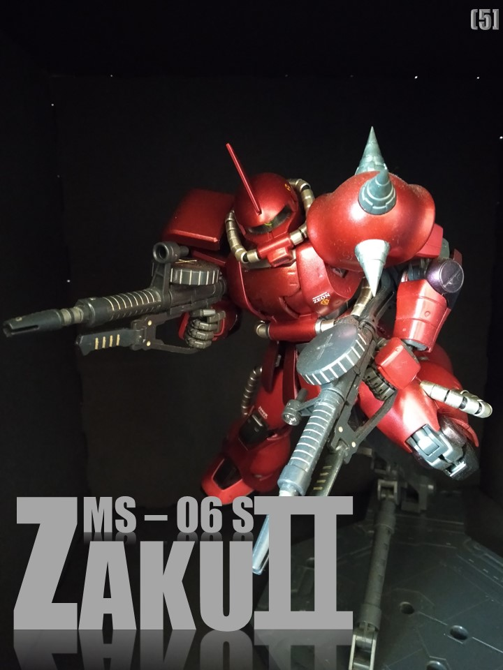 MS-06S ZAKUⅡ No1 制作工程1