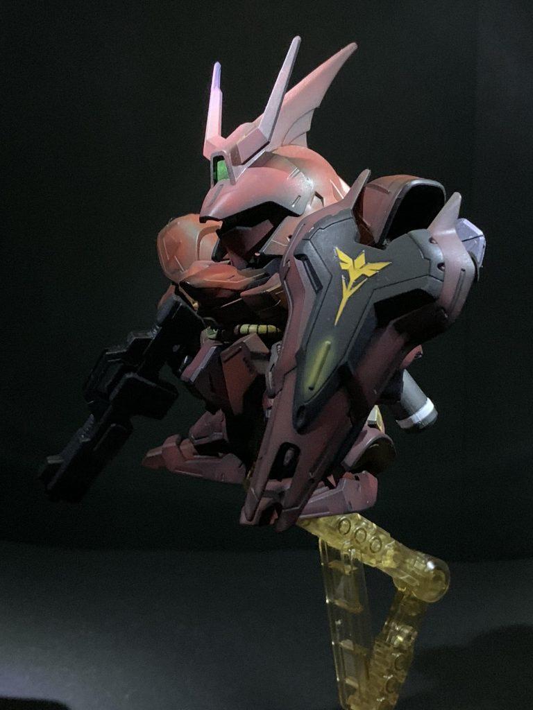 エコプラ BB戦士 サザビー アピールショット1