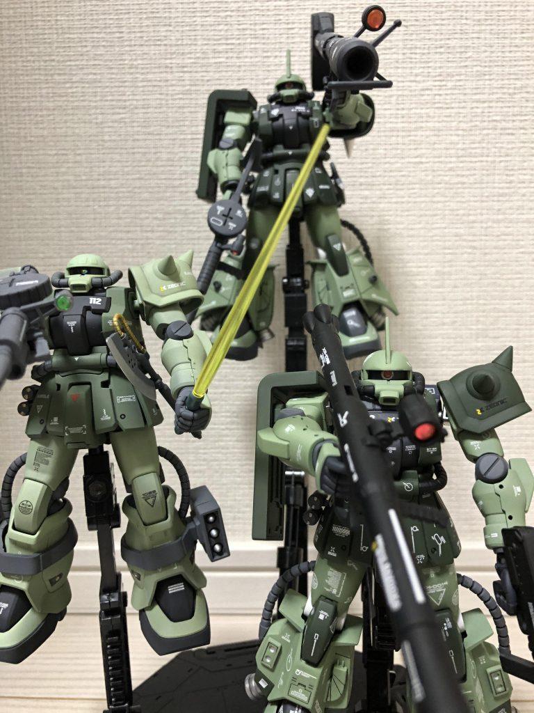 高機動型ザク 三連星 アピールショット4