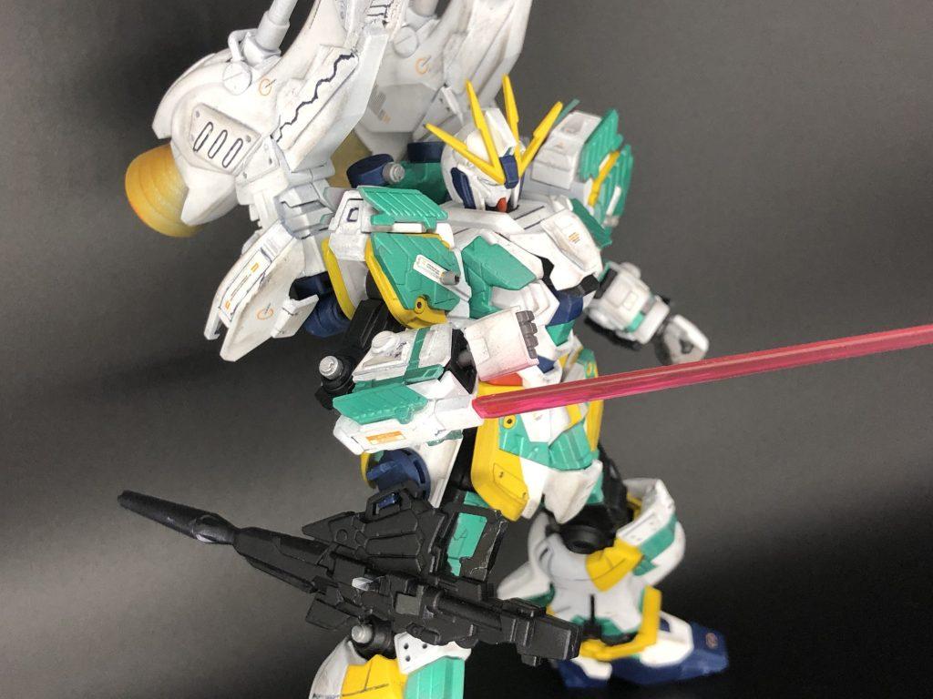 RX-9/W NARRATIVE GUNDAM W-SARF アピールショット4