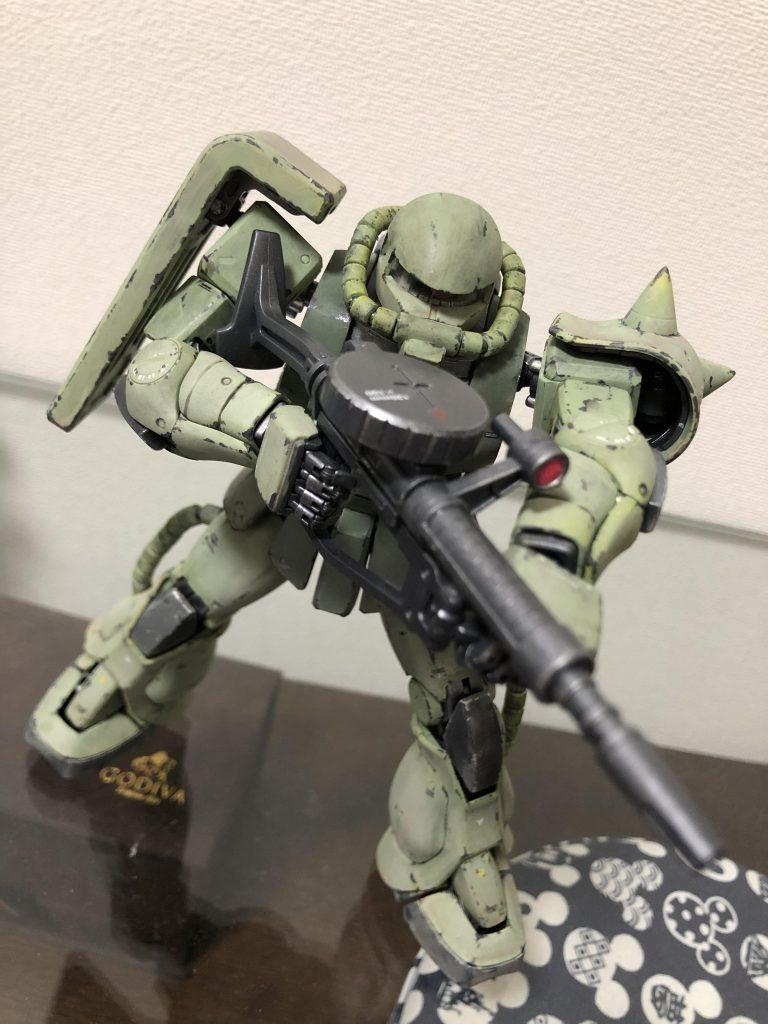 MG 1/100 MS-06J ザクⅡ ver.2.0 アピールショット2