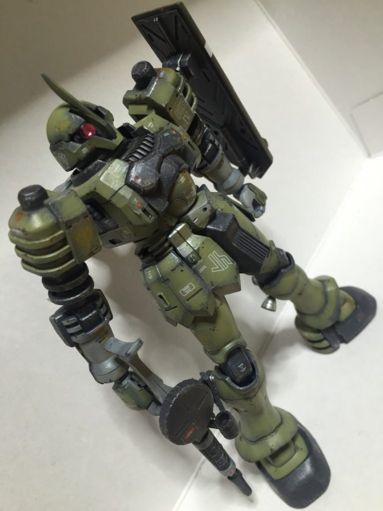 HGUC ヅダ アピールショット1
