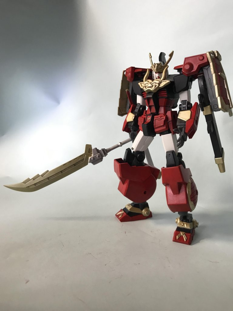 武者ガンダム HG アピールショット4