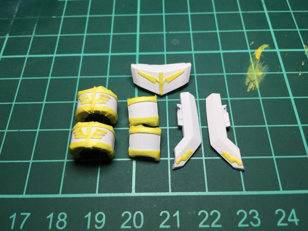 ギラ・ズール(ギルボア機) 制作工程4