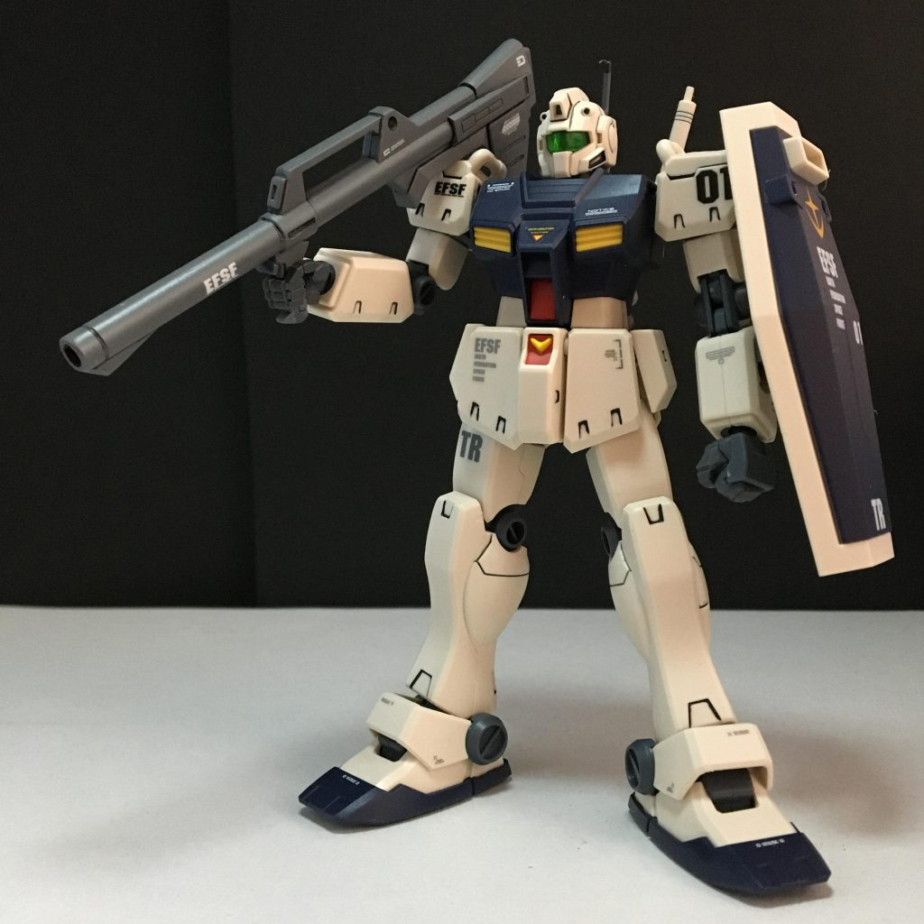 HGUC RGM-79C ジム改 アピールショット2