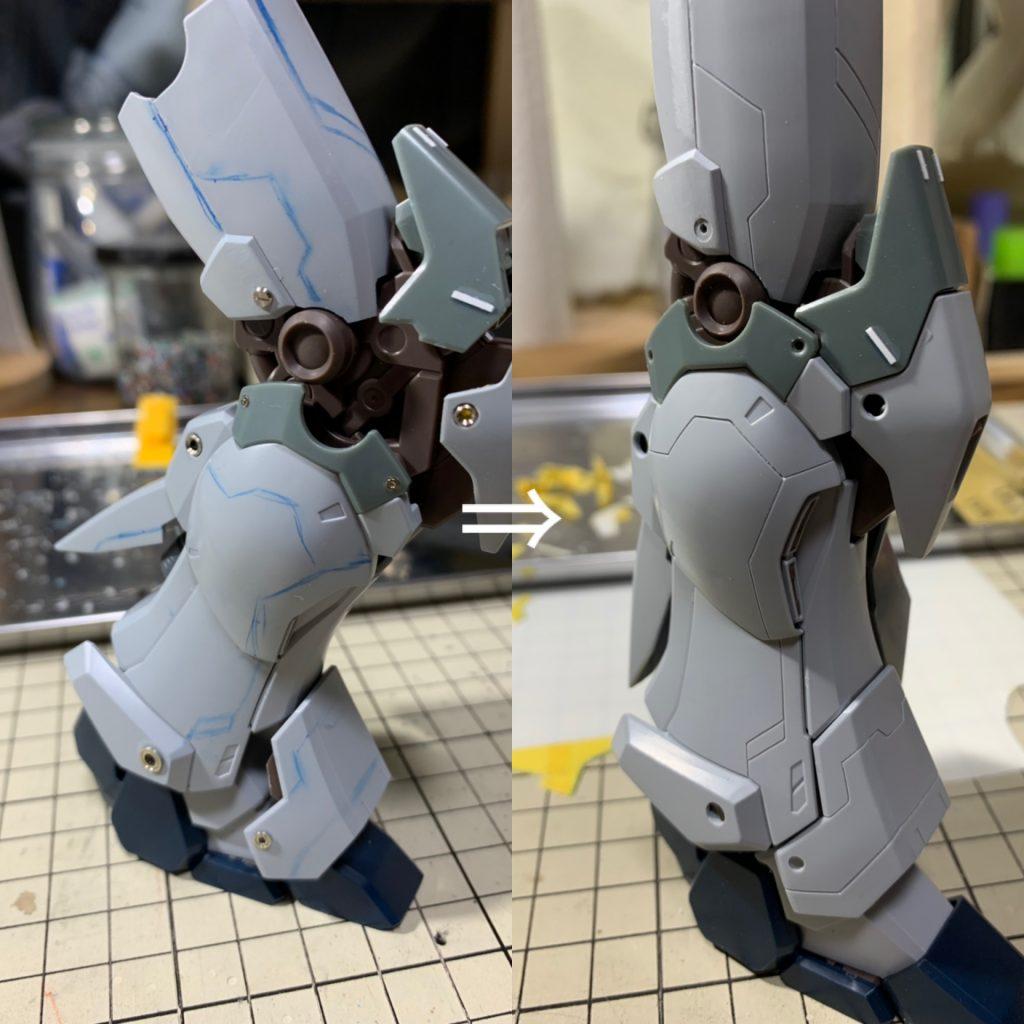 MG シナンジュスタイン(NT Ver.) 制作工程3