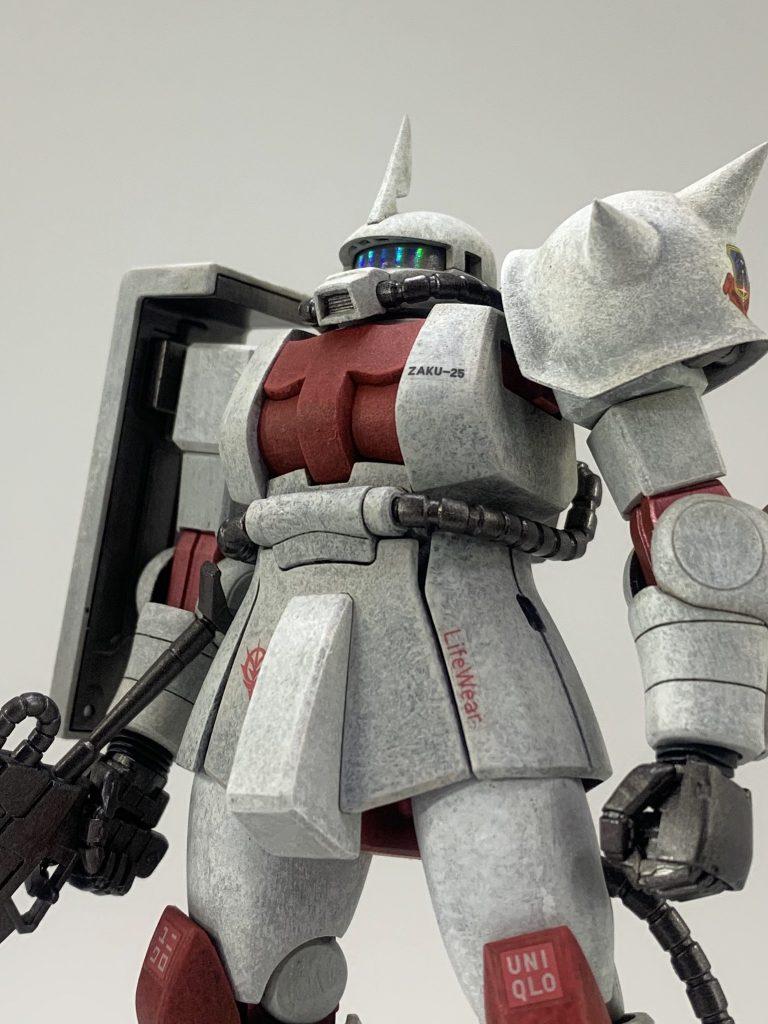 ユニクロ専用 ザクⅡ アピールショット4