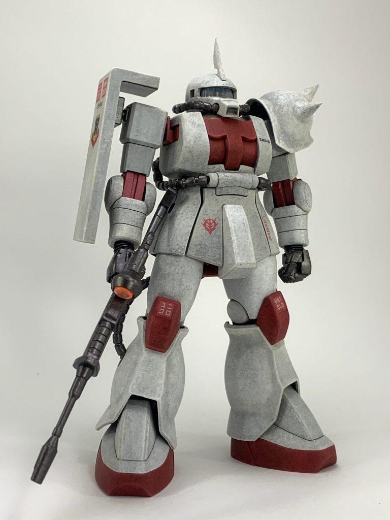 ユニクロ専用 ザクⅡ アピールショット1