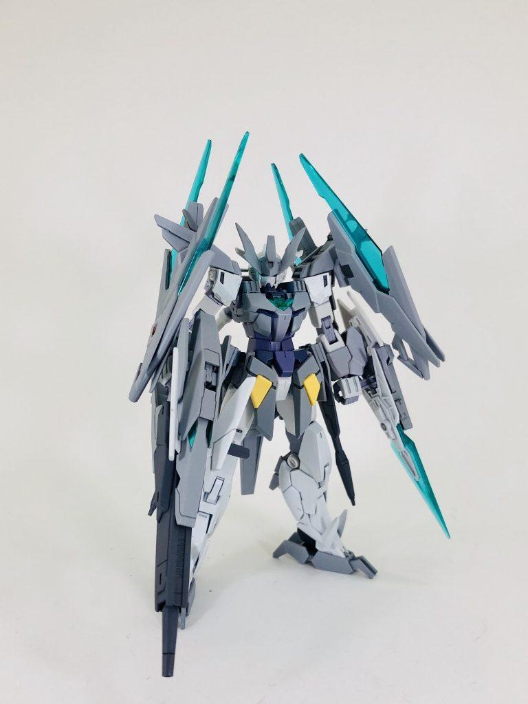 纏え、GBN最強の剣!-AGEⅡマグナムアーマー アピールショット2