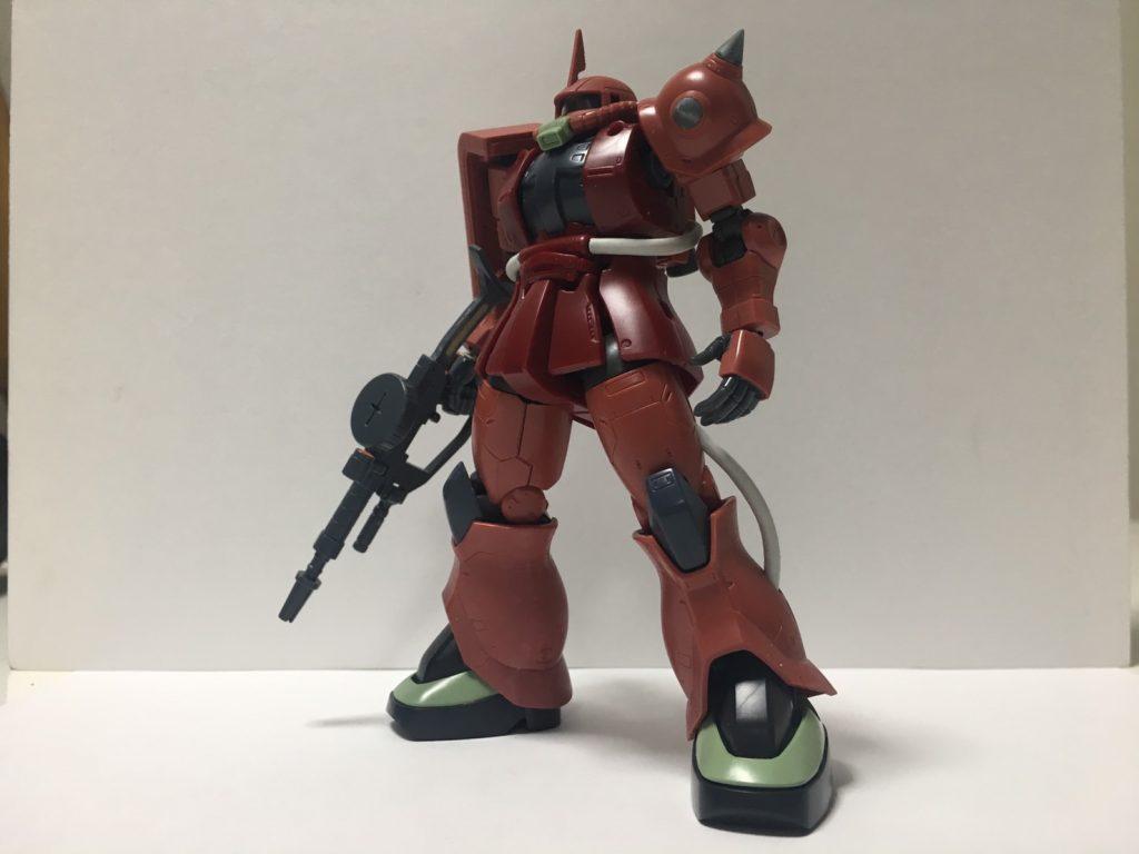 MS-06S ザクII 制作工程1