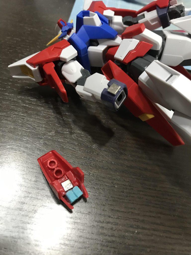 ガンダムAGE-IIIオービタル(アマテラス) 制作工程1