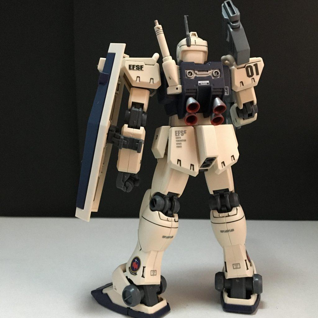 HGUC RGM-79C ジム改 アピールショット3