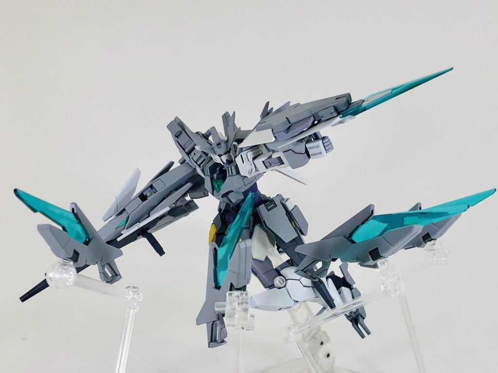 纏え、GBN最強の剣!-AGEⅡマグナムアーマー アピールショット5