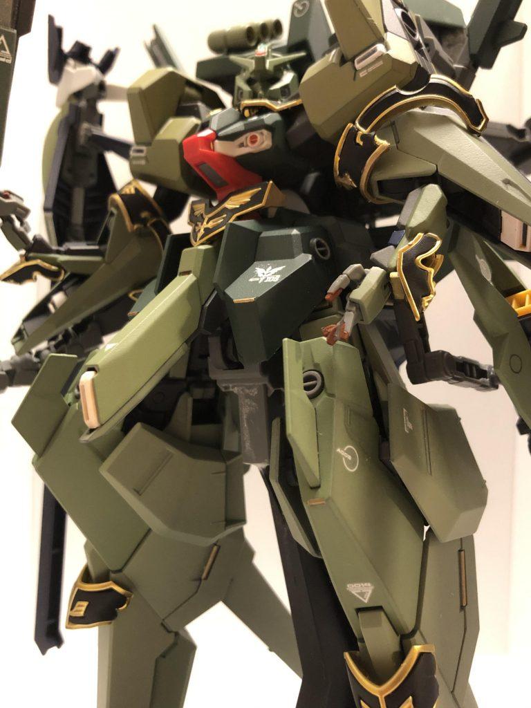 TR-6  [ハイゼンスレイII/ネオジオン譲渡仕様] 制作工程4