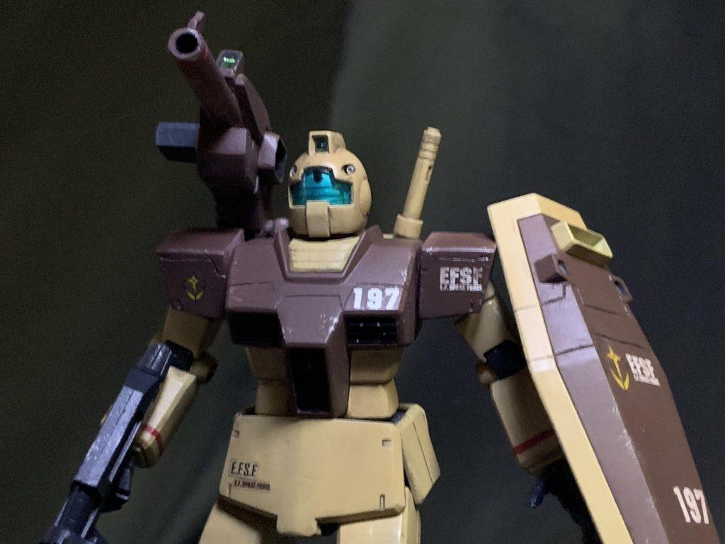 HG GM中距離支援型 アフリカ戦線イメージカラー アピールショット3