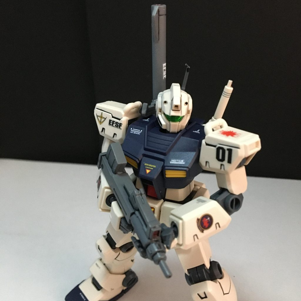 HGUC RGM-79C ジム改 アピールショット4