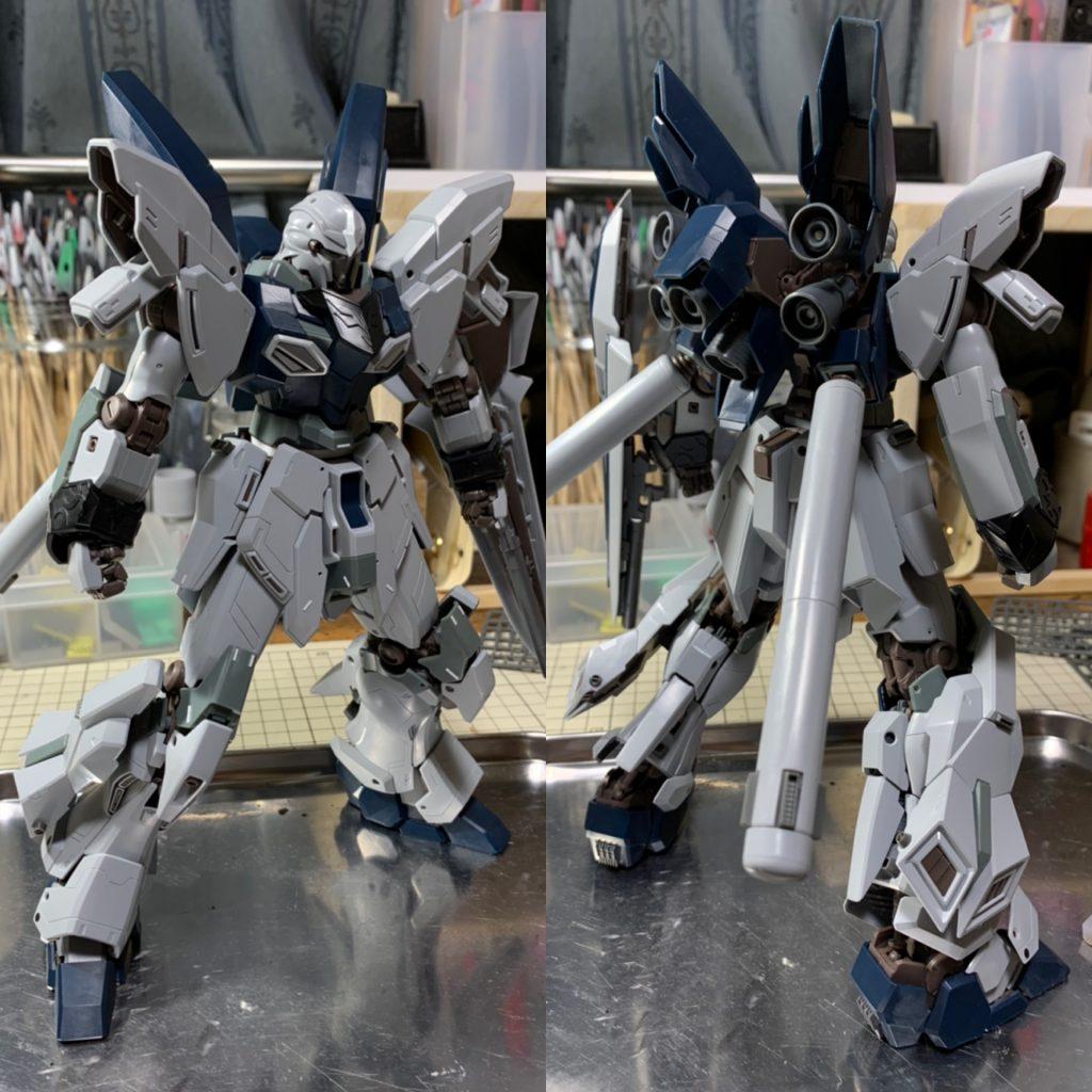MG シナンジュスタイン(NT Ver.) 制作工程8