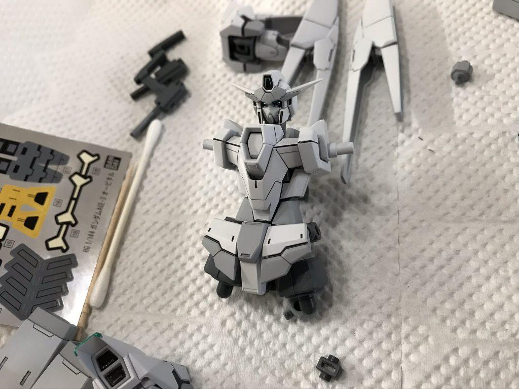 ガンダムAGE-IIIオービタル(アマテラス) 制作工程4