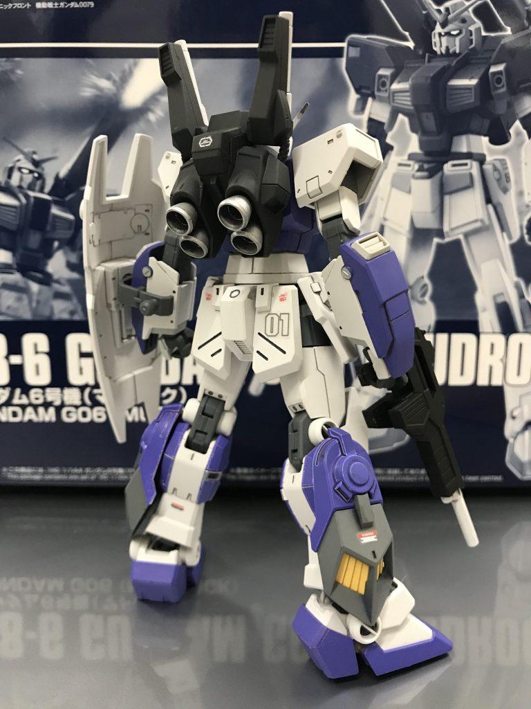 ガンダム6号機 NT-Ⅱ アムロ仕様 アピールショット5
