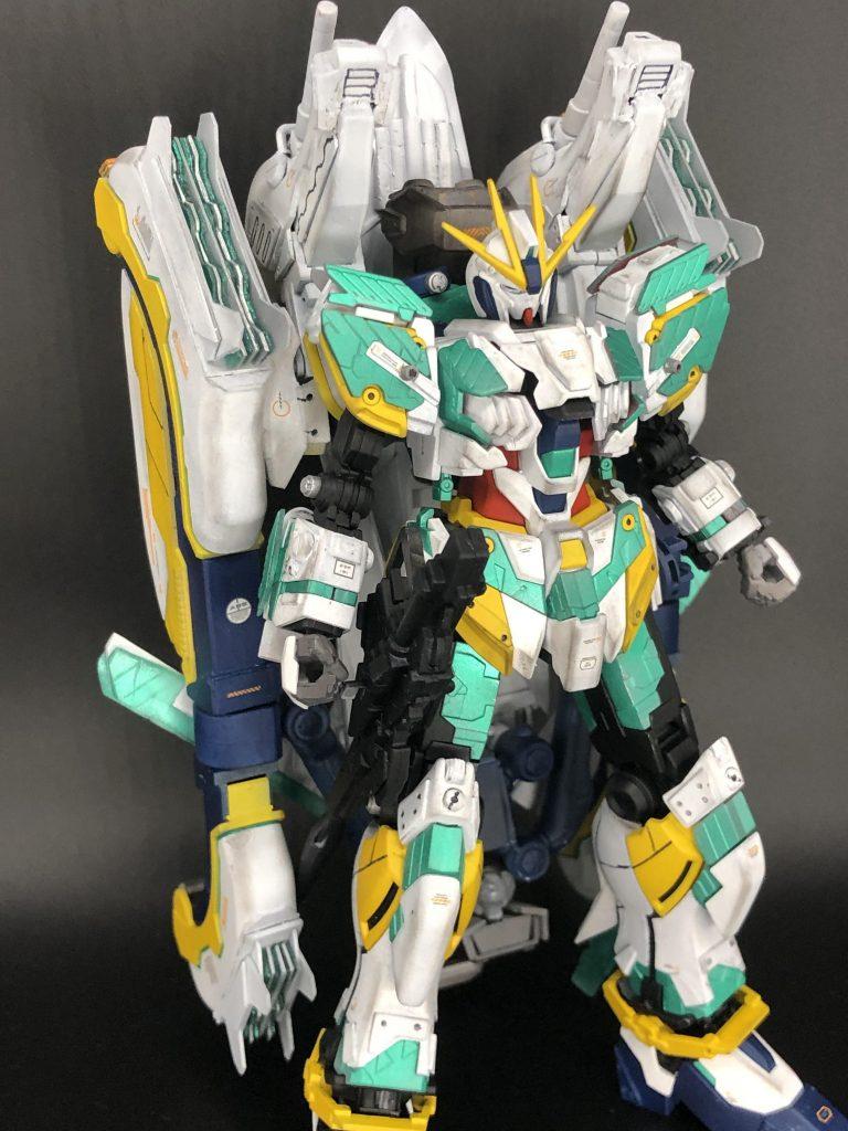 RX-9/W NARRATIVE GUNDAM W-SARF アピールショット8