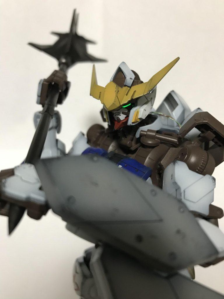 1/100 ASWG-08 ガンダムバルバトス 制作工程4