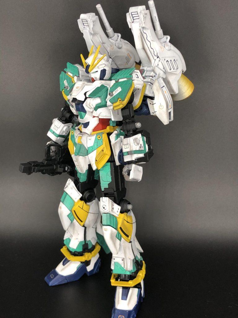 RX-9/W NARRATIVE GUNDAM W-SARF アピールショット1