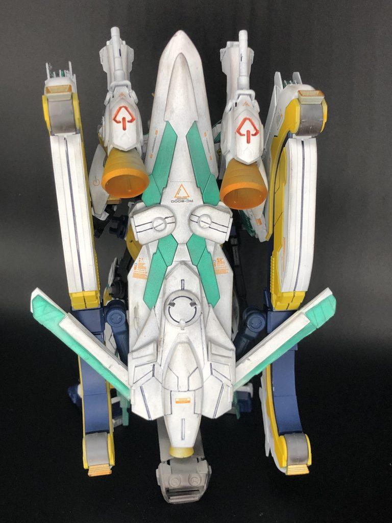 RX-9/W NARRATIVE GUNDAM W-SARF 制作工程1