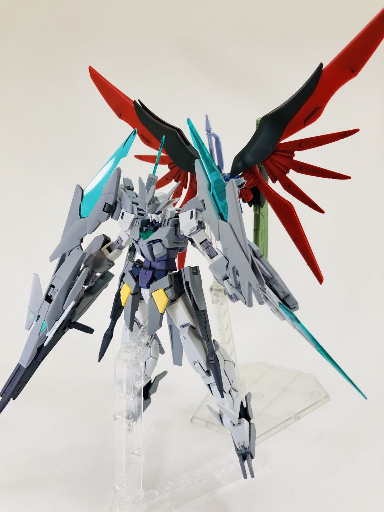 纏え、GBN最強の剣!-AGEⅡマグナムアーマー 制作工程5