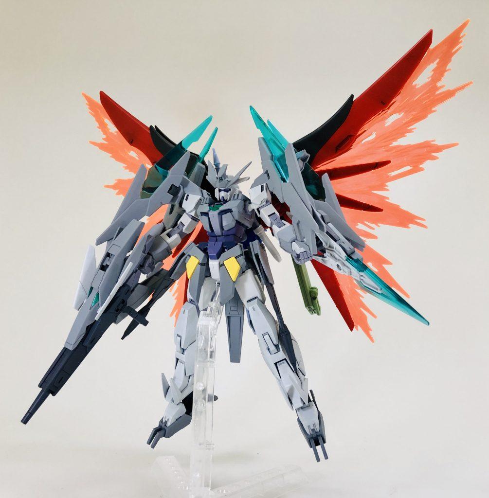 纏え、GBN最強の剣!-AGEⅡマグナムアーマー 制作工程6