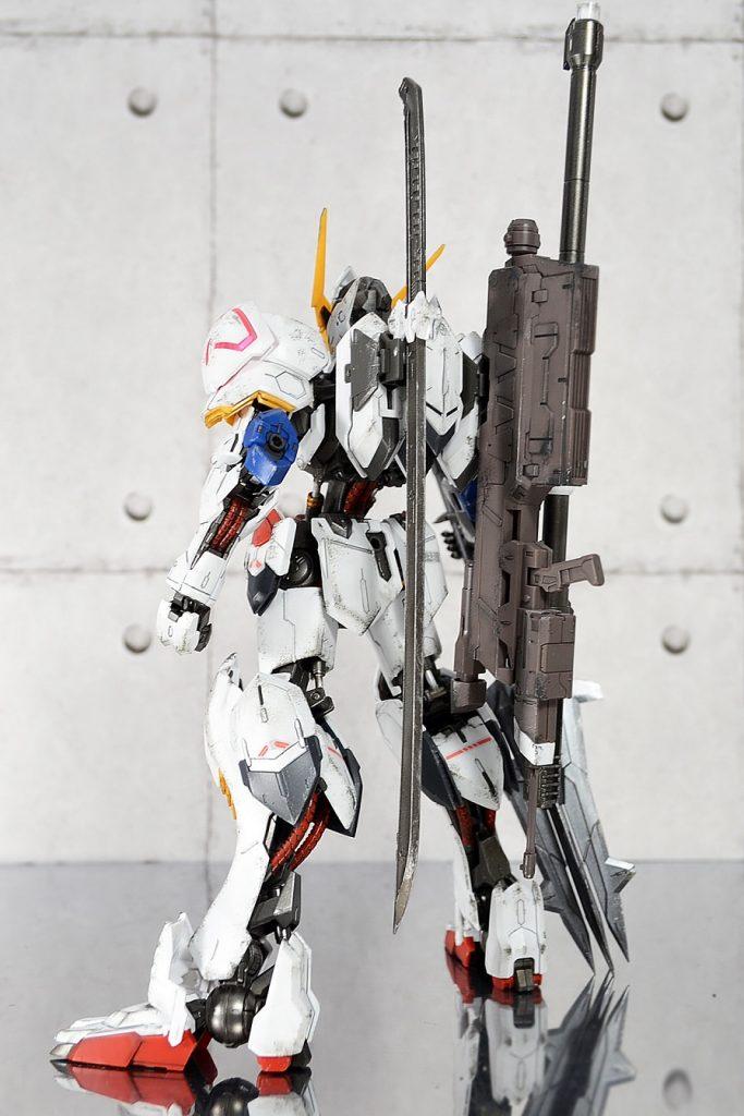 MG ガンダムバルバトス アピールショット2