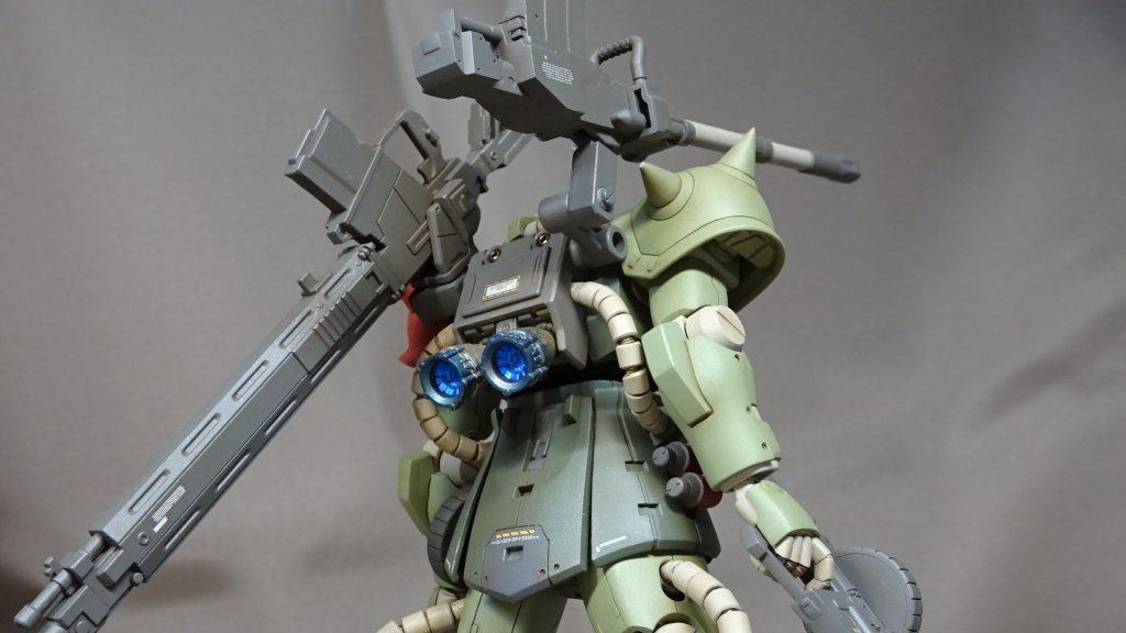 HGUC F2ザク(砲撃戦装備仕様) アピールショット3