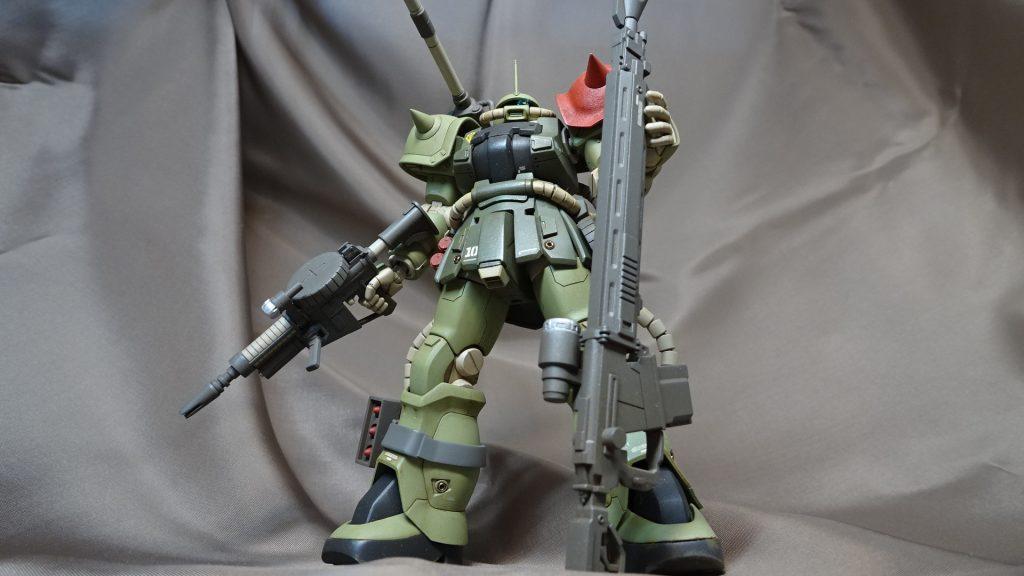 HGUC F2ザク(砲撃戦装備仕様) アピールショット1