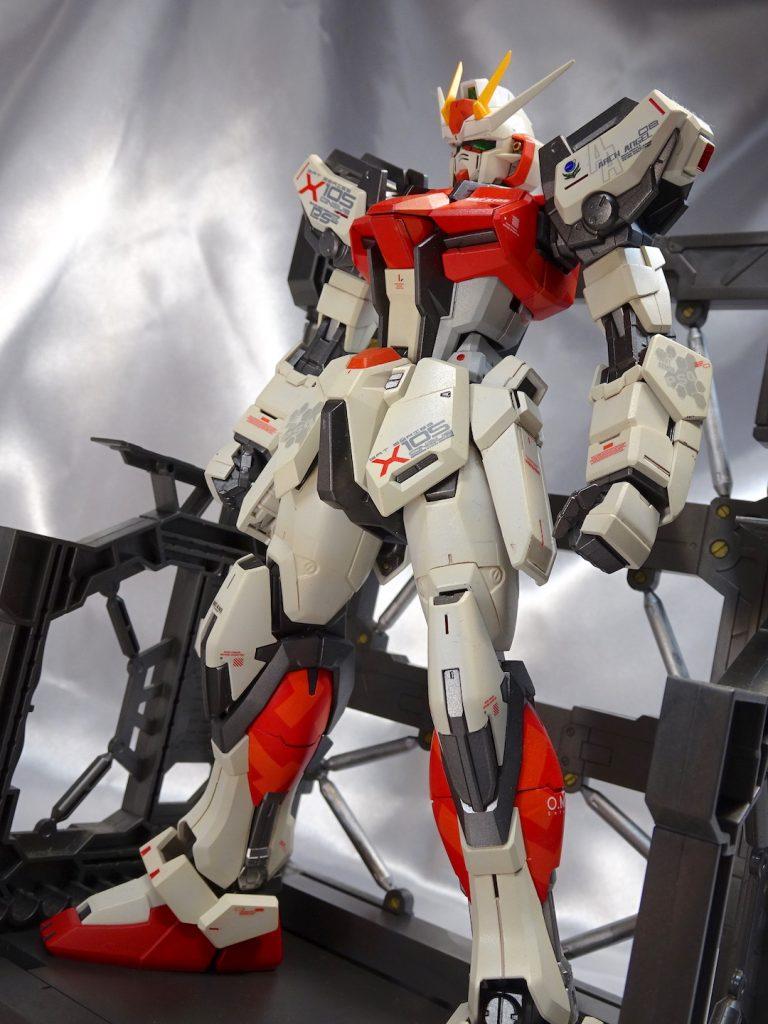 MG ストライクガンダム Ver.RM アピールショット1