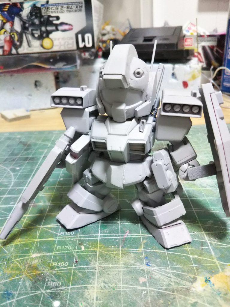 SDジムⅢ 制作工程2