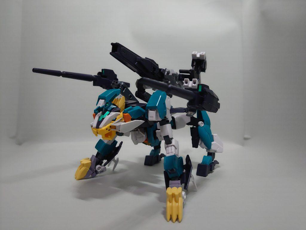 マーズフォーライガー/ライガーユニット 制作工程5