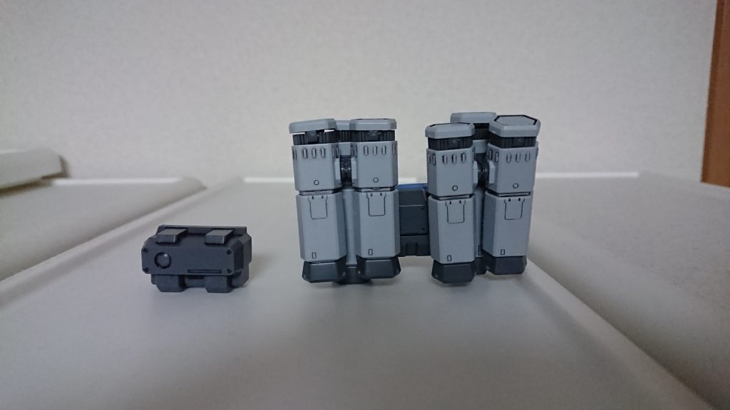 SD BB戦士 GP-02 A & MLRS 仕様 アピールショット1