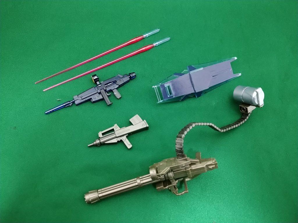 HGUCペイルライダー(空間戦使用)クリアカラー アピールショット6