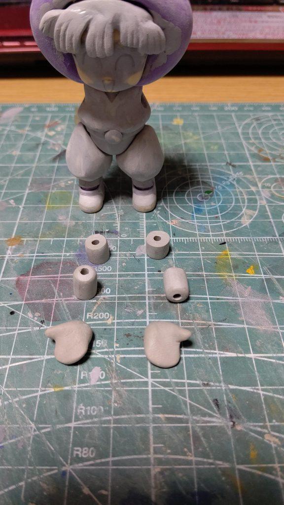 プチッガイ忍部ヒミコなのだーッ♪ 制作工程3