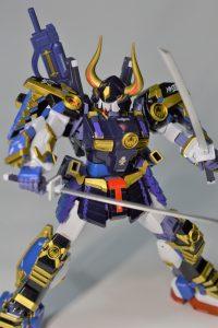 オリジナル全塗装 MG 武者ガンダムmk-2