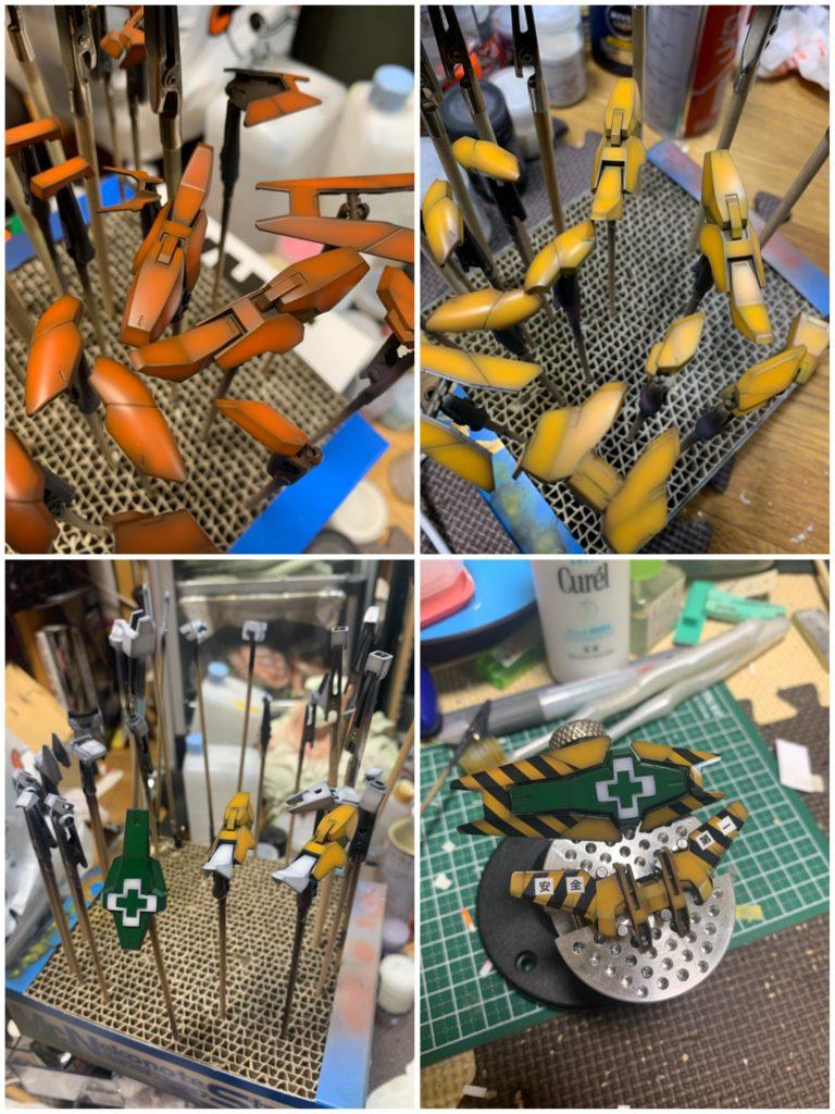HG アースリィガンダム 安全➕第一 制作工程2