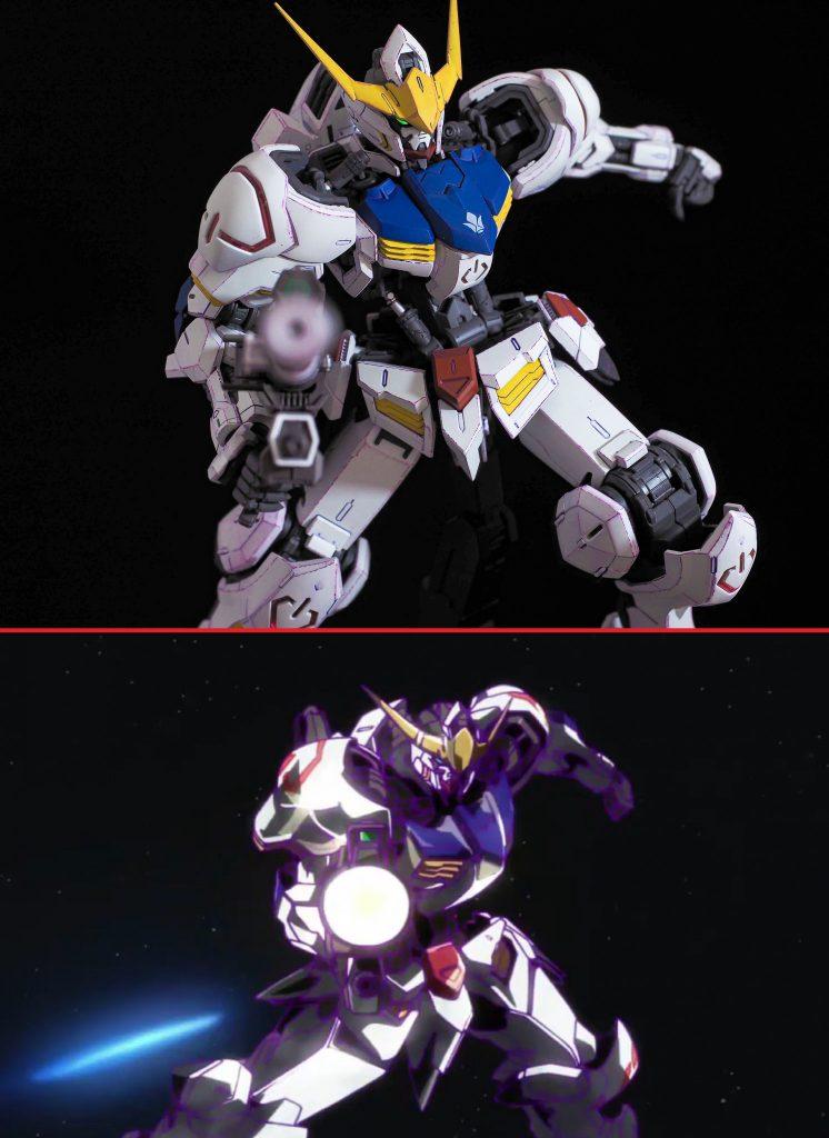 MG ガンダムバルバトス(一期ED冒頭イメージVer) アピールショット3