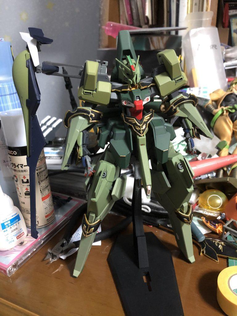 TR-6  [ハイゼンスレイII/ネオジオン譲渡仕様] 制作工程5