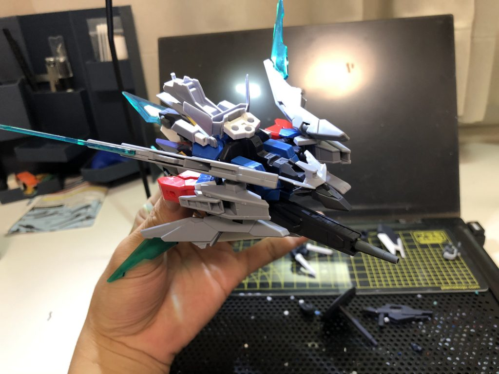 纏え、GBN最強の剣!-AGEⅡマグナムアーマー 制作工程2