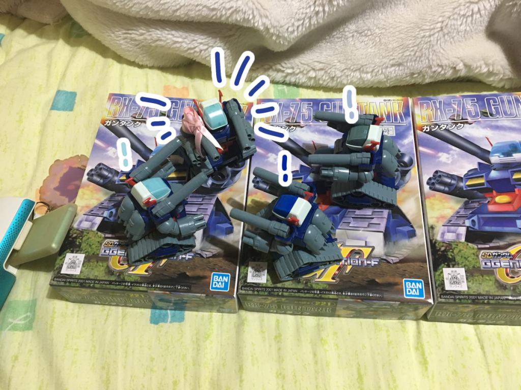 三つ子ガンタンクちゃん アピールショット3